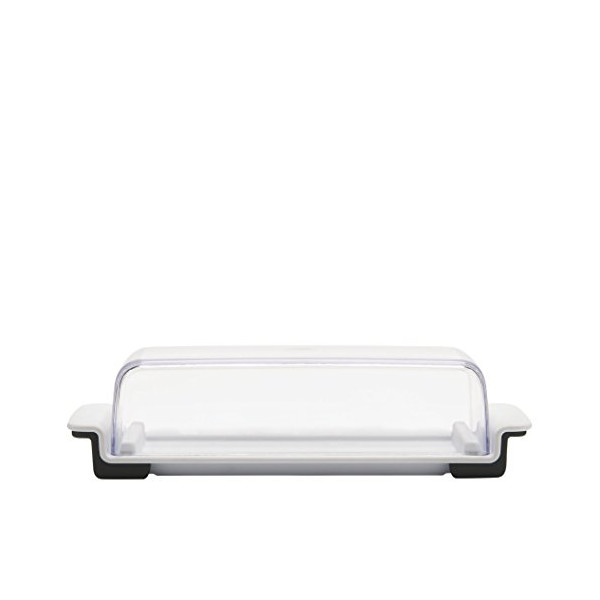 OXO Good Grips Butter Dish, White/Clear