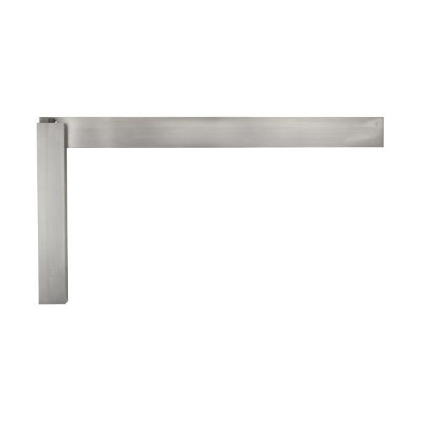 """Starrett 20-36 Hardened Steel Master Precision Square, 20"""" Beam Length, 24"""" Blade Length"""