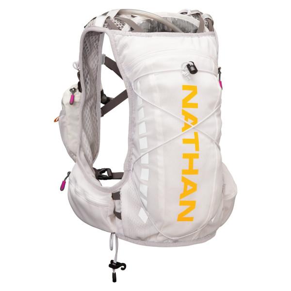 Nathan Vapor Shape Bottle, Orange/White, Small/Medium