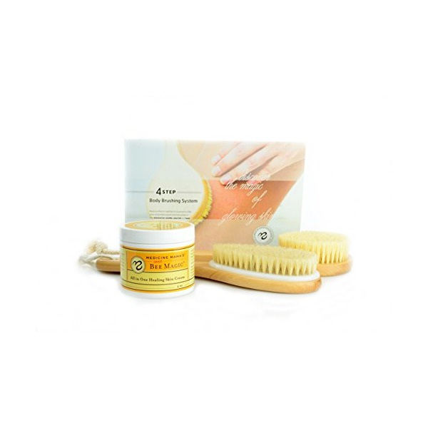 Medicine Mama's Apothecary Body Brush Kit, 11.2 Ounce