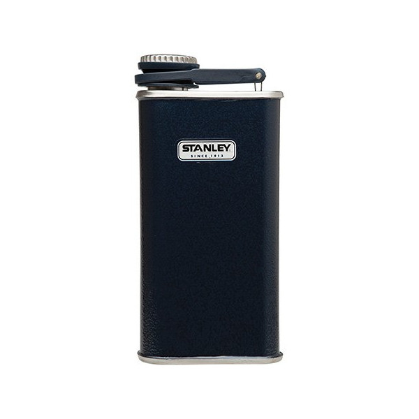 Stanley Classic Flask (Hammertone Navy, 8-Ounce)