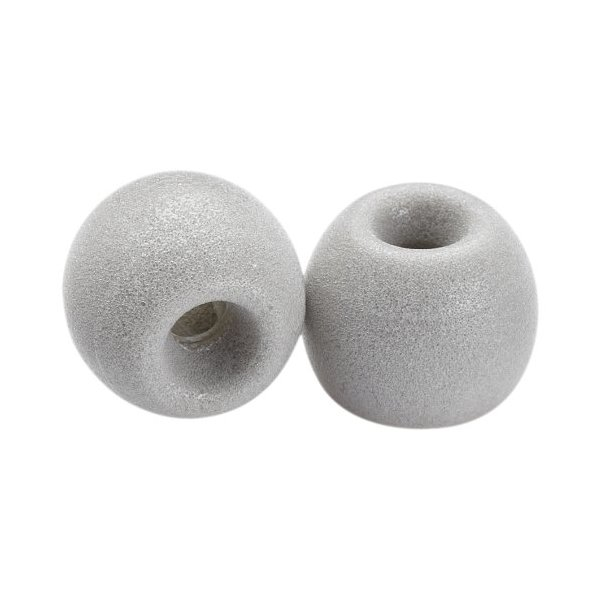 Comply Whoomp Foam Tips (Platinum, 3 Pairs, Medium)