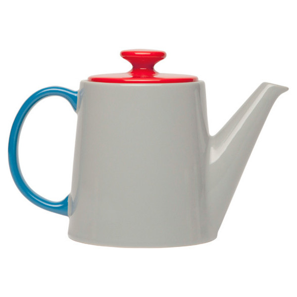 Jansen+co My Teapot - Grey/Red/Blue