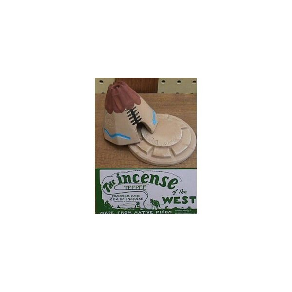 Teepee Burner With Pinon Natural Wood Incense - Incienso De Santa Fe