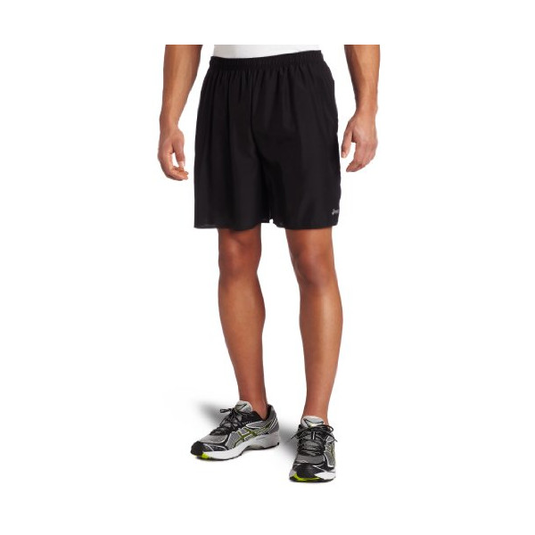 Asics Men's Core Pocketed Short, Black, X-Large