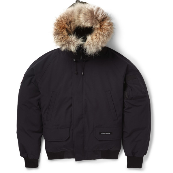 Canada Goose Men's Chilliwack Bomber, Black
