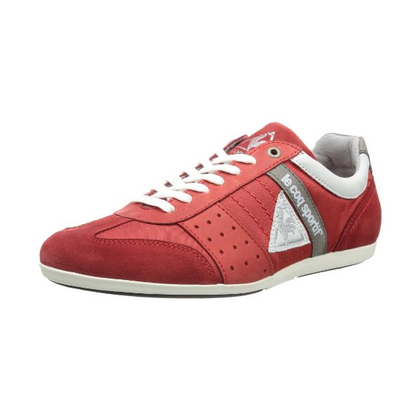 Le coq Sportif Mens TACO NYLON LOW Low Red Rot (Formular One) Size: 42