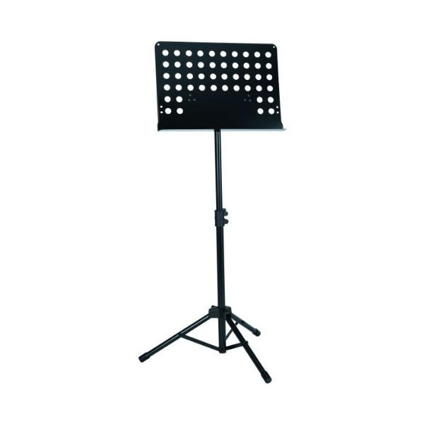 Gearlux Deluxe Collapsible Orchestra Music Stand - Black
