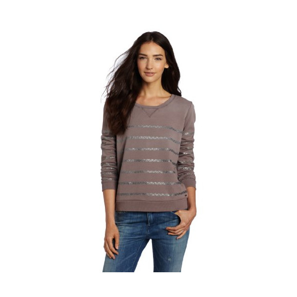 Maison Scotch Women's Fashion Sweatshirt, Mauve, Petite