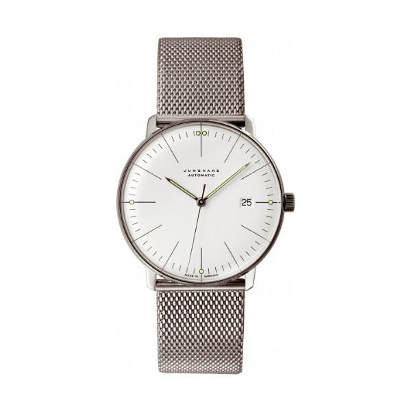 Junghans Herrenarmbanduhr MAX BILL Automatic Analog 027/4002.44