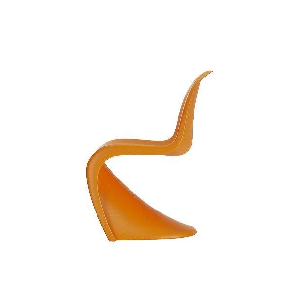 Panton Junior Chair by Vitra - Tangerine