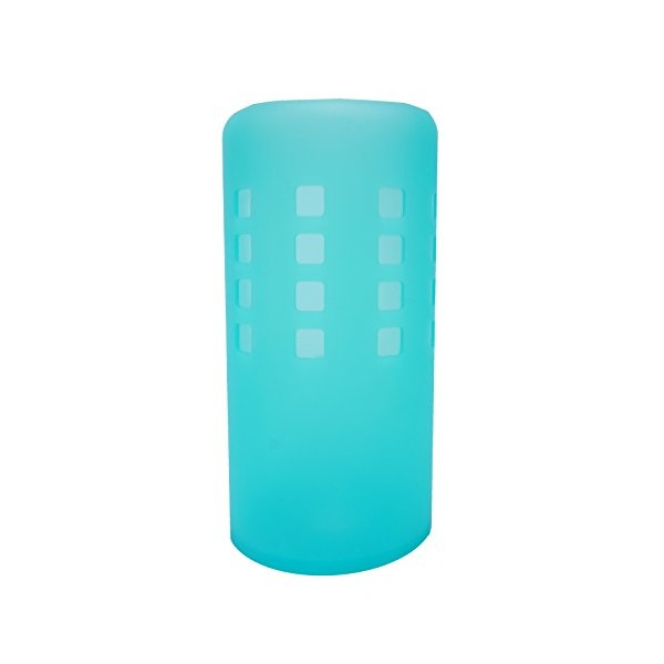 Onoola Silicone Sleeve for 32oz Hydro Flask Water Bottles (Translucent Blue)