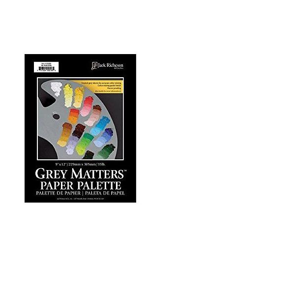 Grey Matters Paper Palette 16X20 30 Sheets