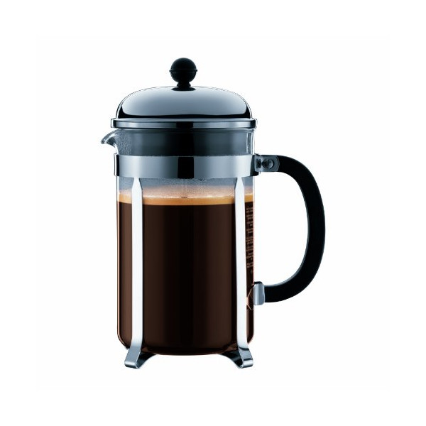 Bodum Chambord French Press Coffee Maker, 51 oz. / 12 cups