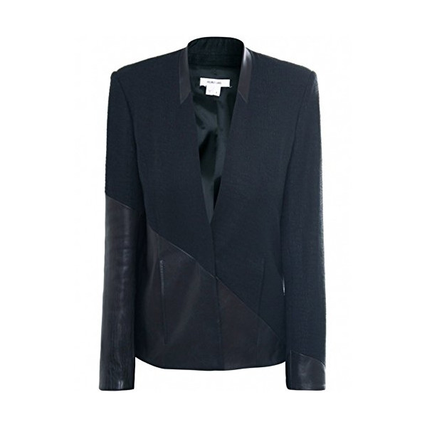 Helmut Lang Women's Warped Suit Jacket UK 8 Black