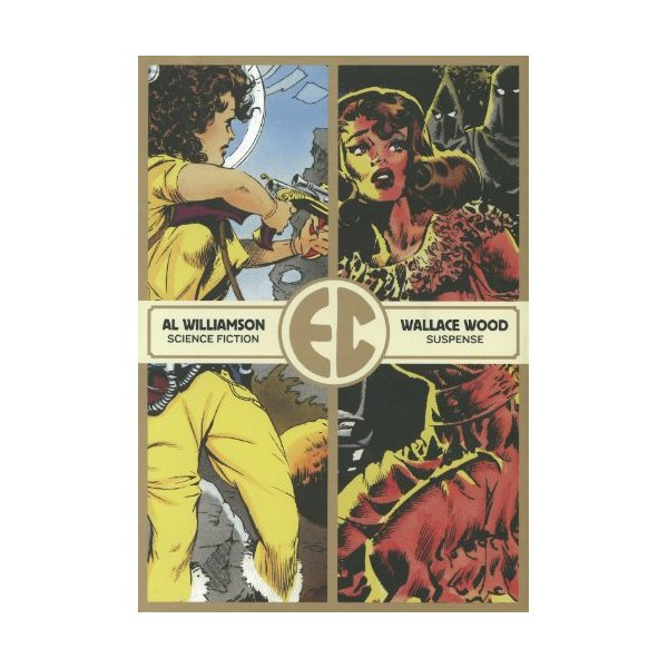 The EC Comics Slipcase Vol. 1 (Vol. 1-4)