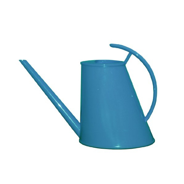 Rush Creek Designs PIM0406002718 Cayman Watering Can, Sky, 2 Liter (Discontinued by Manufacturer)
