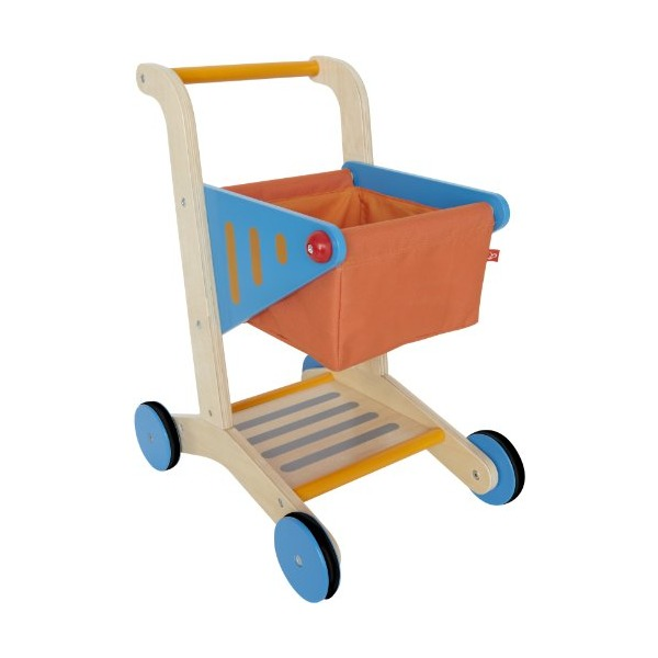 Hape - Playfully Delicious - Shopping Cart - Play Set