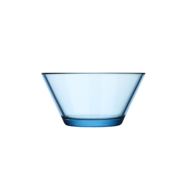 Iittala Kartio 13-Ounce Glass Bowl, Light Blue