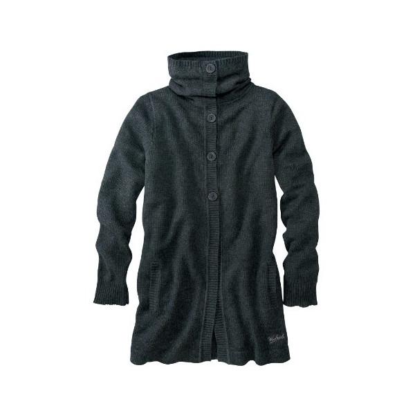 Woolrich Women's Winward Cardigan Coat, ONYX HTR (Gray), Size S/PETITE