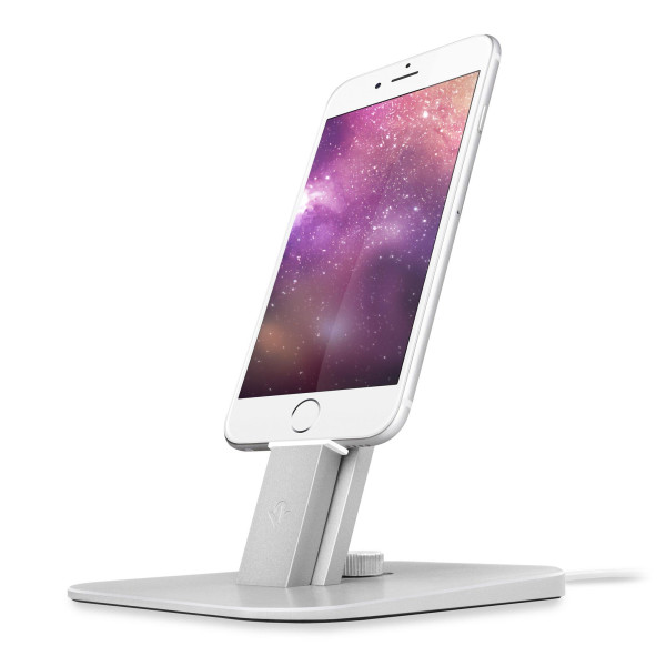Twelve South HiRise Deluxe Dock Station, Silver
