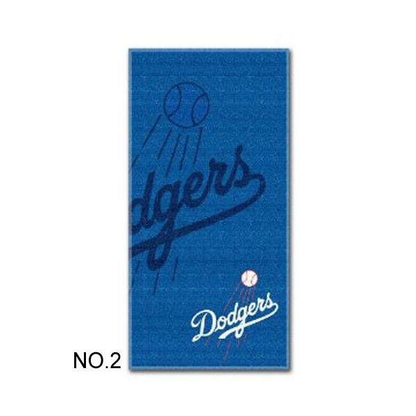 "MLB Los Angeles Dodgers Emblem Beach Towel Measures 30"" X 60"" TOWEL: MLB Los Angeles Dodgers02"