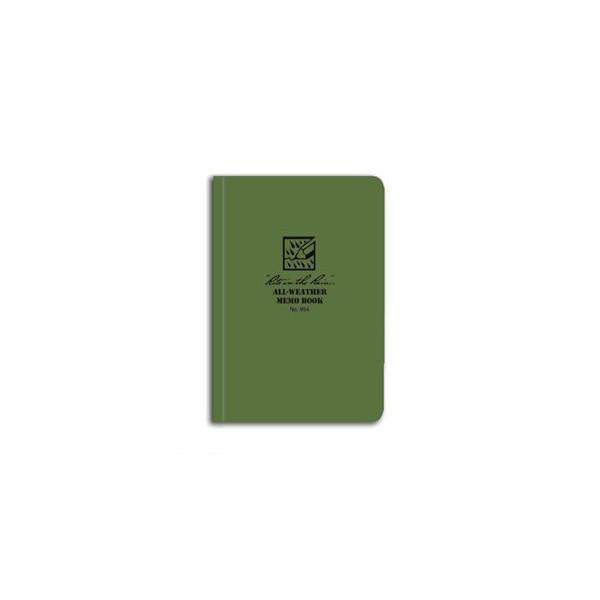 Rite In The Rain Memo Book - Green - 5 X 3.5