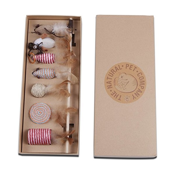 The Ultimate Cat Toy Collection - Excellent Selection of Cat Toys in Beautiful Gift Box