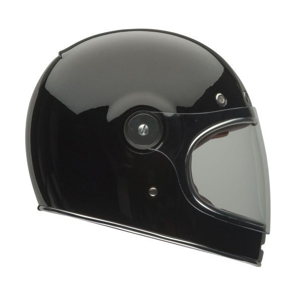 Bell Solid Adult Bullitt Motorcycle Helmet, Black, Small