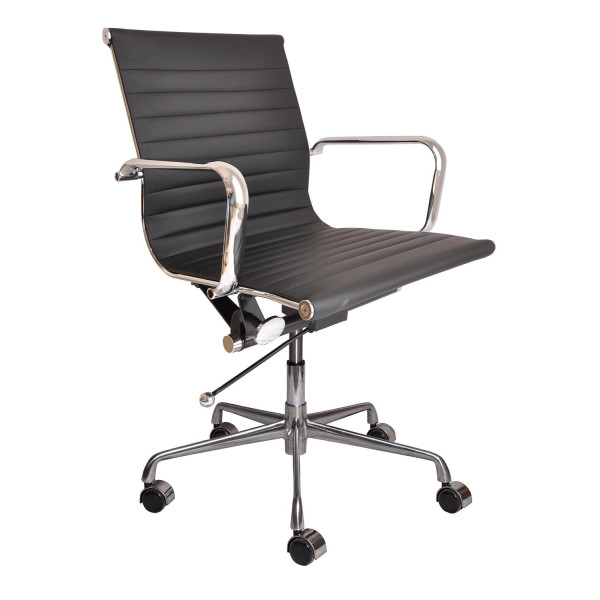 SOHO Ribbed Management Chair (Black)