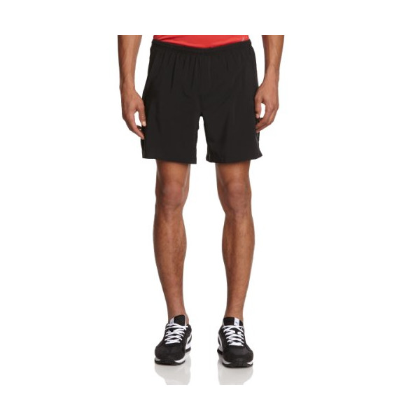 "Brooks Men's Sherpa IV 2 in 1 7"" Short, Color: Black, Size: L"