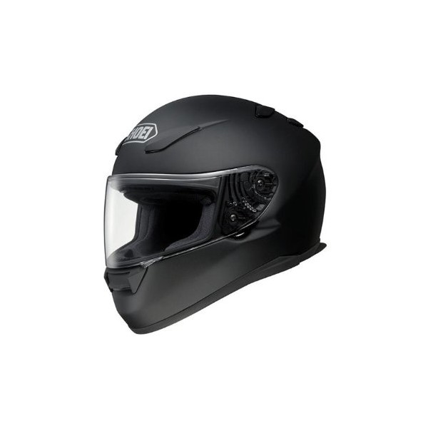 Shoei Solid RF-1100 Full Face Motorcycle Helmet - Matte Black / Medium