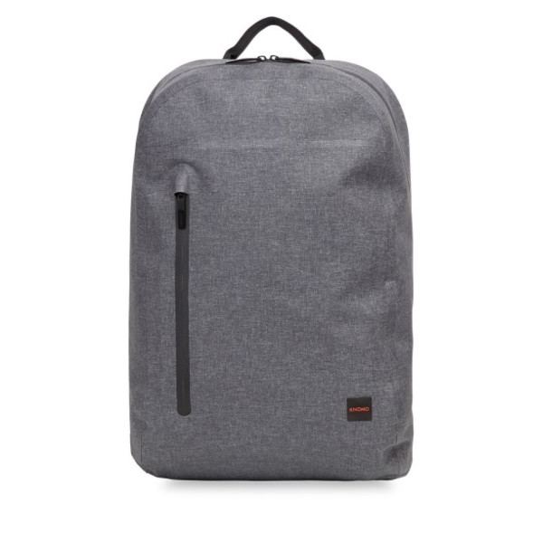 "KNOMO Thames Harpsden Roll Top Backpack, 14"", Grey"