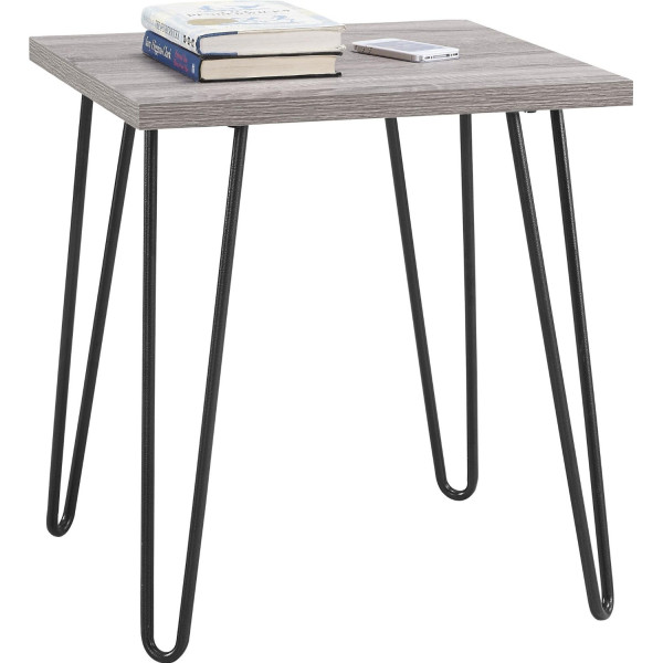 Altra Furniture Owen Retro End Table with Sonoma Oak Finish