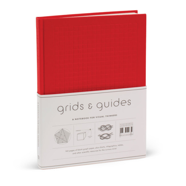 Grids & Guides, A Notebook for Visual Thinkers, Red