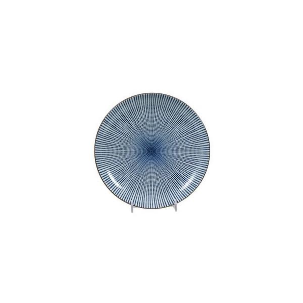 "8.5"" Round Sendan Tokusa Plate"