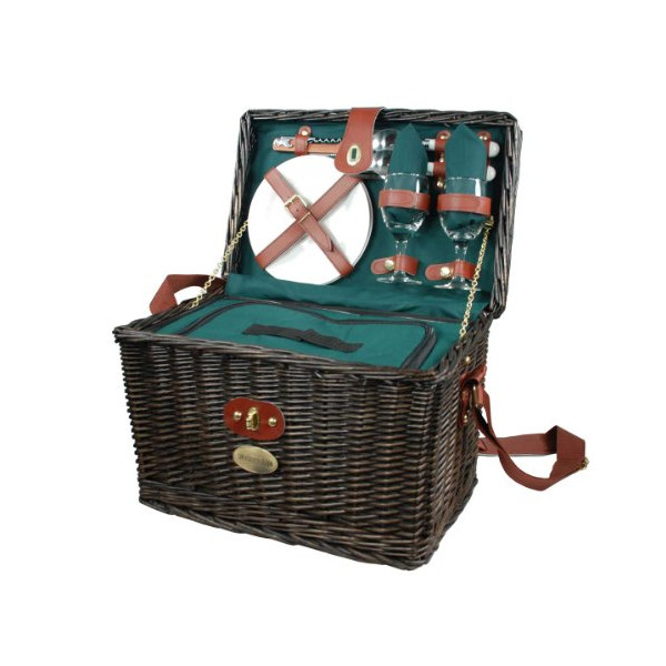 Viridian Insulated Picnic Basket