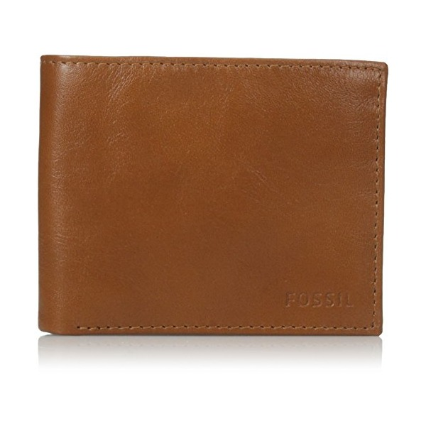 Fossil Men's Truman Bifold with Flip Id, Saddle, One Size