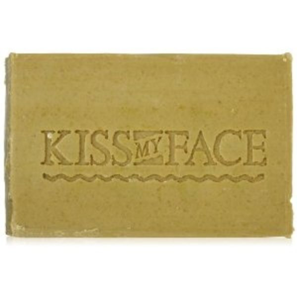 Kiss My Face Olive & Chamomile Bar Soap, 8-Ounce Bars (Pack of 8)