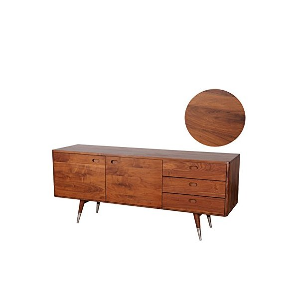 Mod Home Collection Vienna Sideboard, Small, Walnut