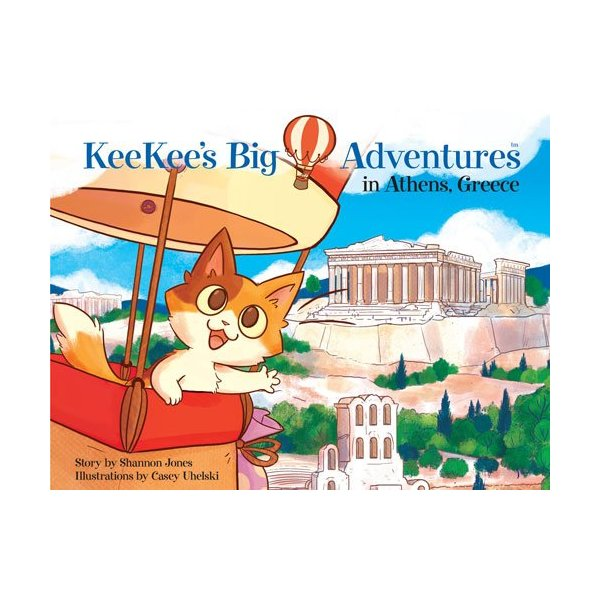 KeeKee's Big Adventures in Athens, Greece