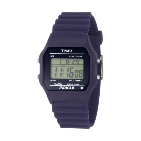 Timex Men's Digitals Premium Blue Watch