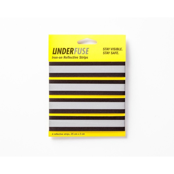Underfuse Iron-on Reflective Strips