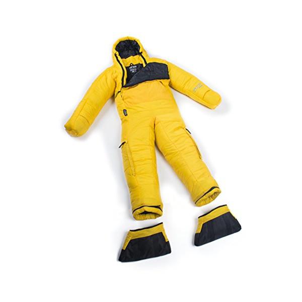 Selk'bag Adult Original 5G Wearable Sleeping Bag: Yellow Flare, Large