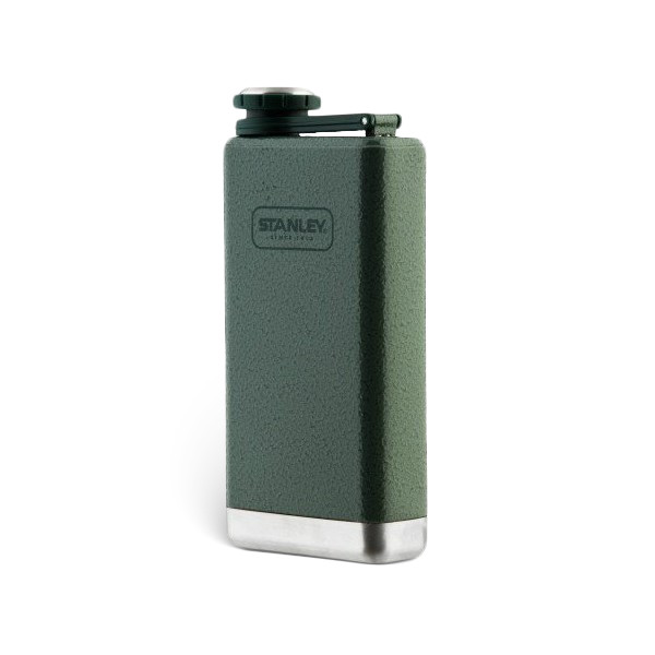 Stanley Adventure Stainless Steel Flask, Hammertone Green
