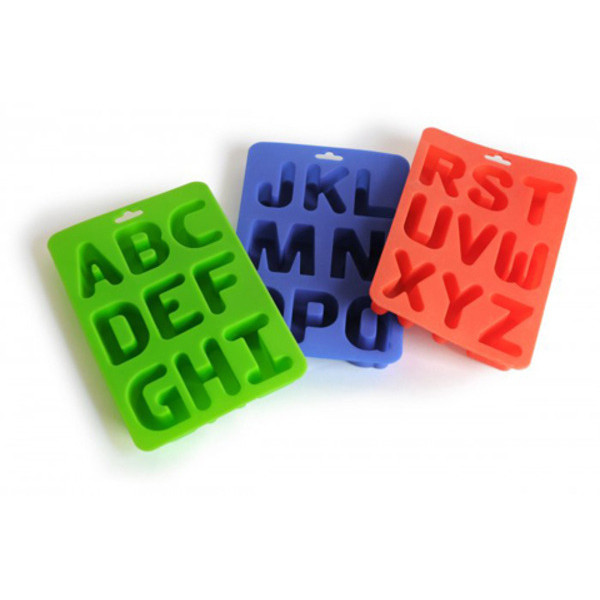 Silicone Alphabet Letter Ice Tray
