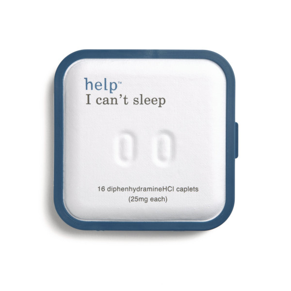 Help Remedies Help I Can't Sleep, 25mg, 16-Count