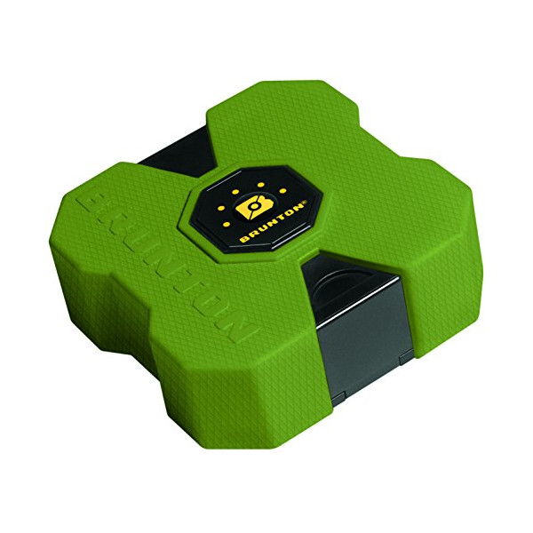 Brunton Revolt XL 9000 mAh Portable Power Bank, Outdoor Green