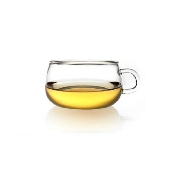 Moyishi Clear Glass Borosilicate Tea/Espresso Coffee Milk Cup ,Set of 6