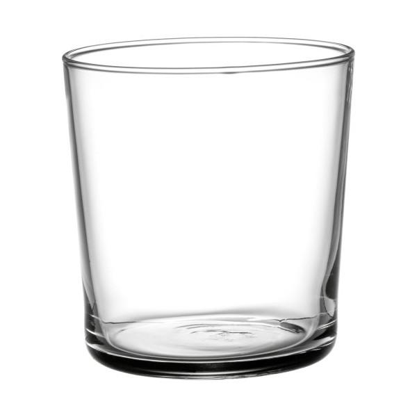 Bormioli Rocco Bodega Tumbler Medium Glasses - 12 Ounce, Set of 12